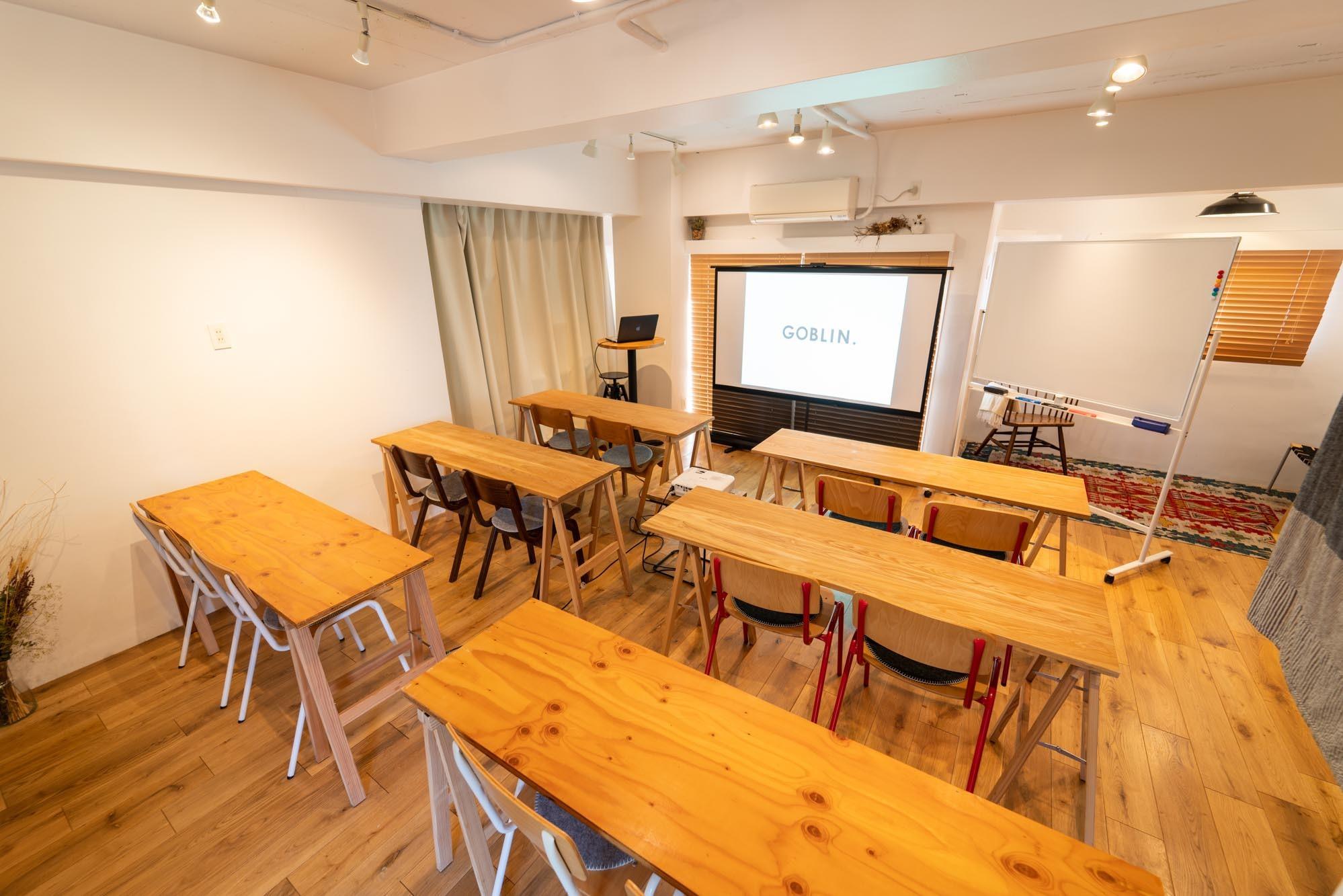 GOBLIN.原宿店 -GALLERY A/B- 【A】会議・セミナー・ウェビナーの室内の写真