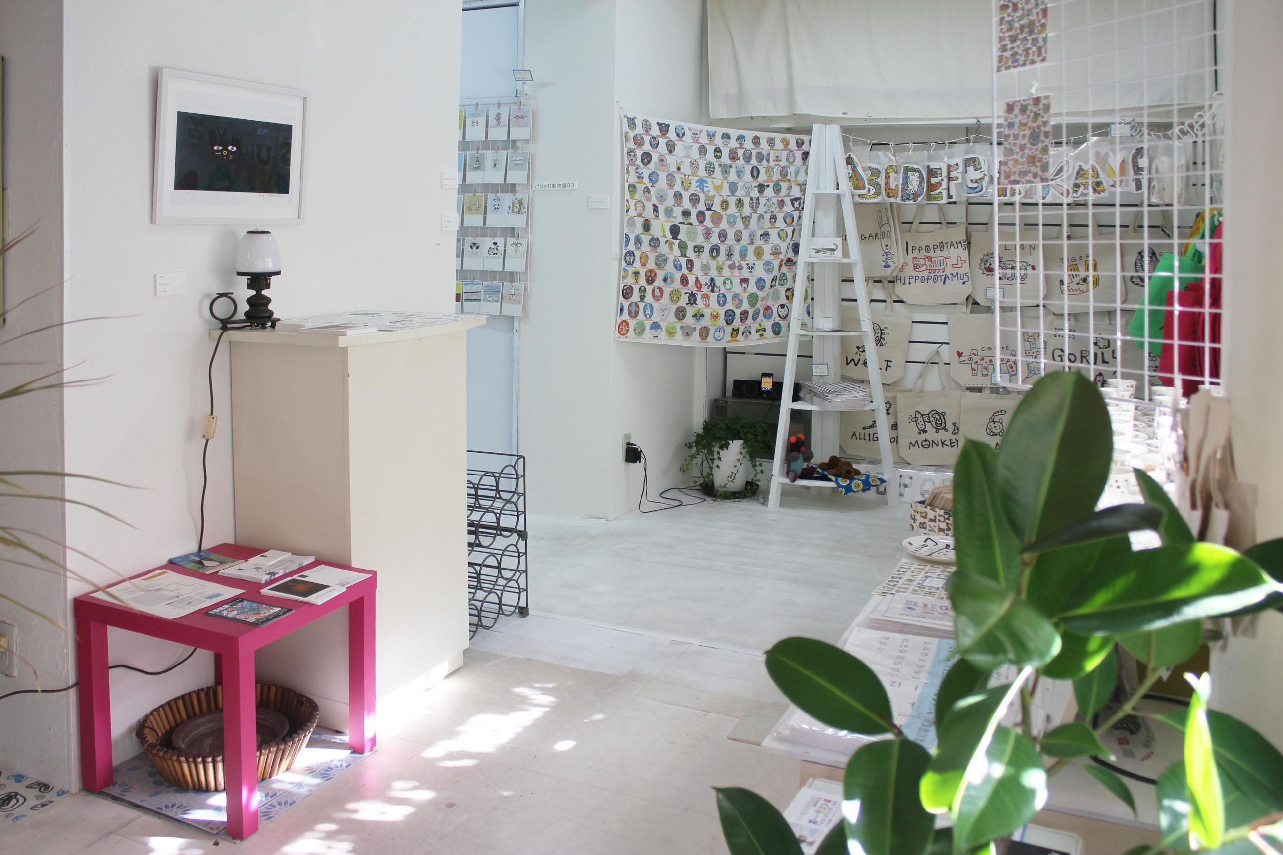 スタジオクートギャラリー 各種展示会の室内の写真