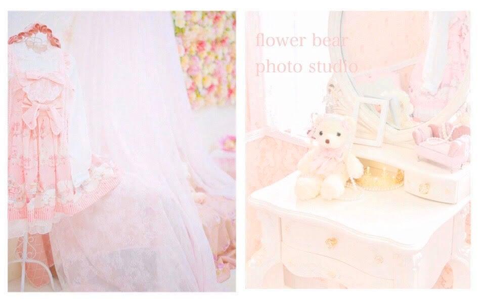 くまさんブース/フラワーガーデンブース  - スタジオ フラワーベア フォトスタジオ、レンタルスペースの室内の写真