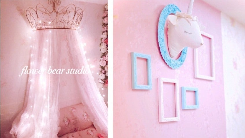 プリンセスブース/ピンクブース - スタジオ フラワーベア フォトスタジオ、レンタルスペースの室内の写真