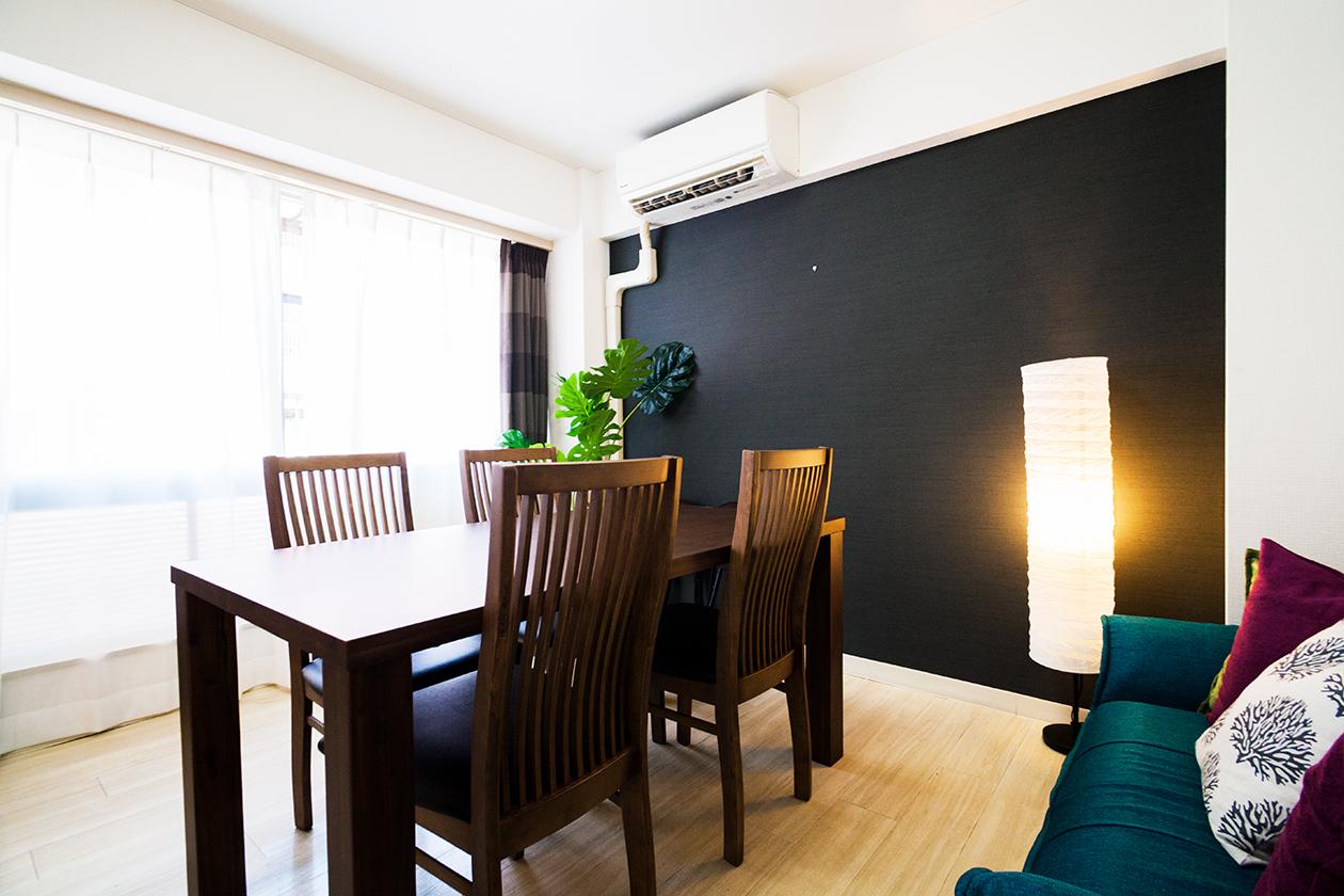 バリの風・渋谷スペースの室内の写真