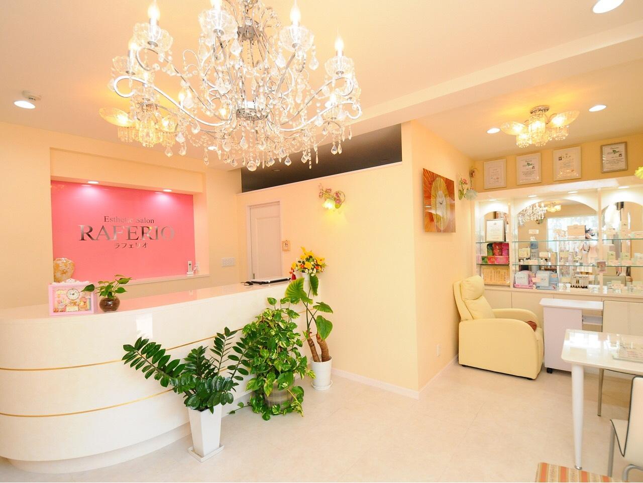 受付・店内 - ビューティーレンタルサロン 清潔感&オシャレな24時間サロンの室内の写真