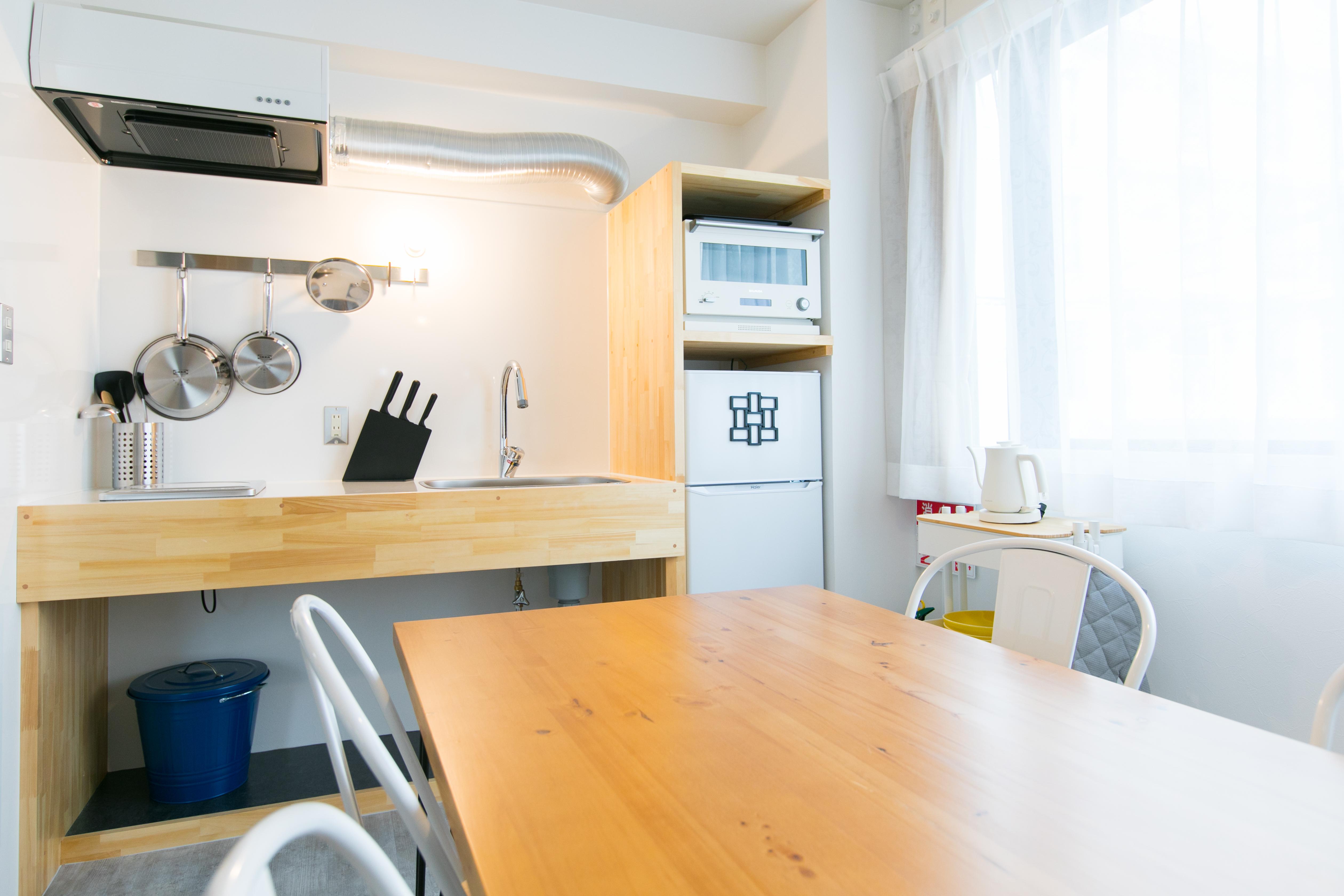 ウィズダム美野島イン 自由に使えるフリースペース!の室内の写真