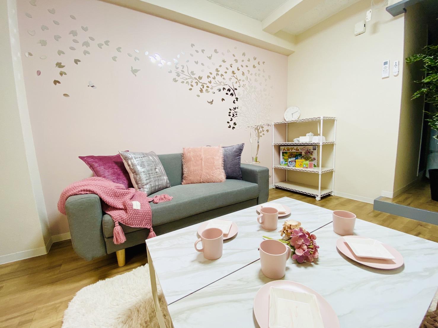 メルティなんば🎀 SMILE+姉妹店の室内の写真