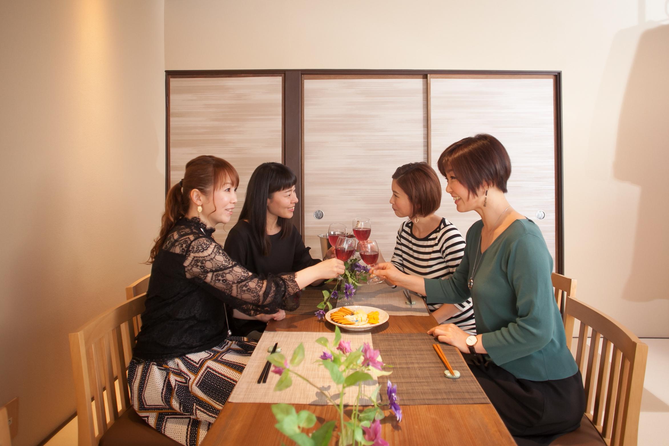 Oyama旅音 リビングの室内の写真