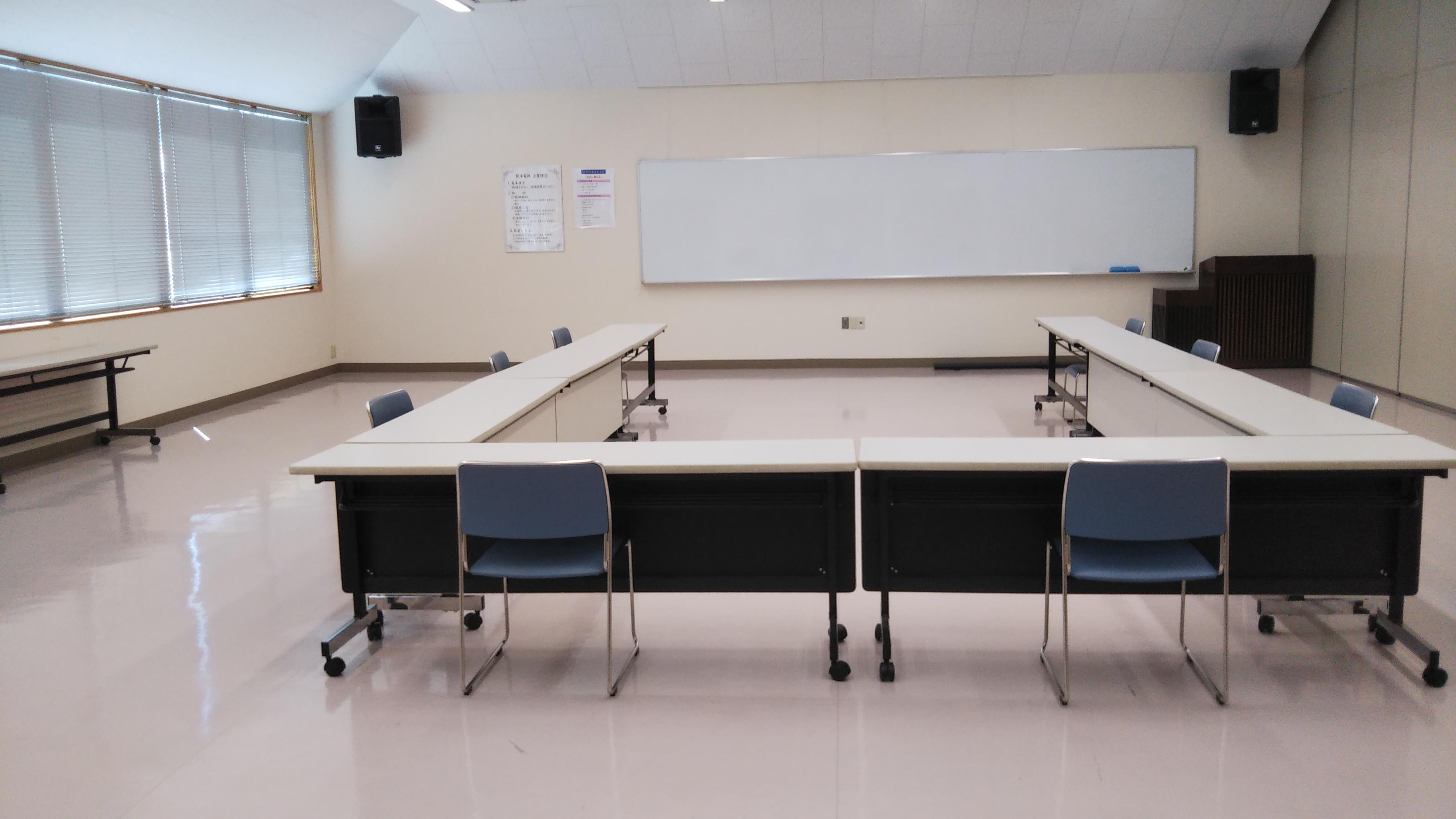 大会議室(会議形式)  - 熊本電気鉄道株式会社別館 大会議室の利用の室内の写真