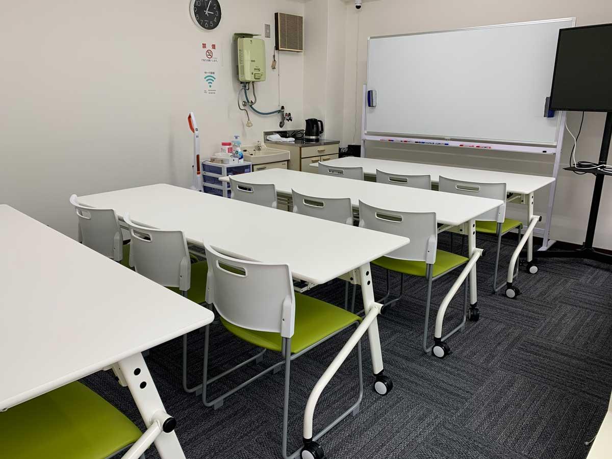 TSE新橋貸会議室 新橋貸会議室の室内の写真