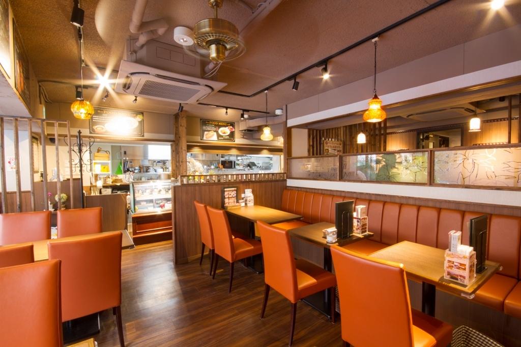 パセラ珈琲店 南池袋 店舗全体の室内の写真