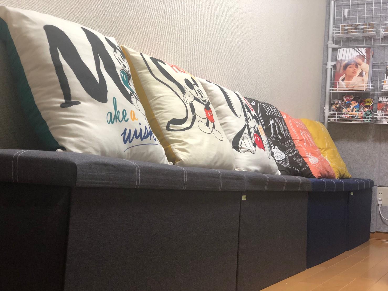 移動も楽な収納可能スツール! - JK Room 新宿三丁目店 隠れサロン💅🏻施術ベット🛌の室内の写真
