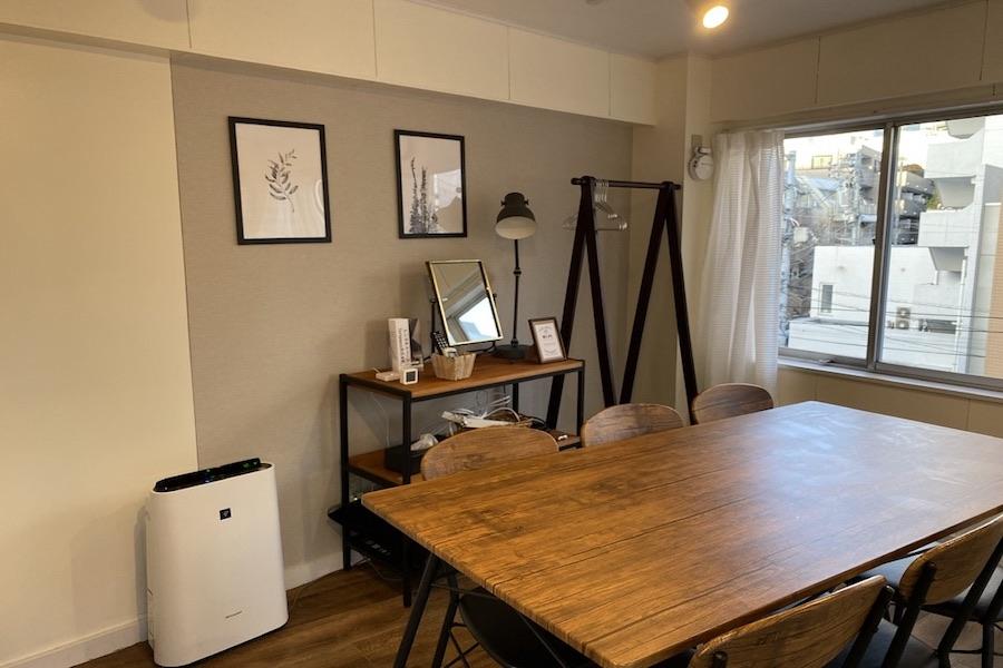 撮影などにも使えるおしゃれな空間です - 【forspace代々木Ⅱ】 多目的スペース(4F)の室内の写真