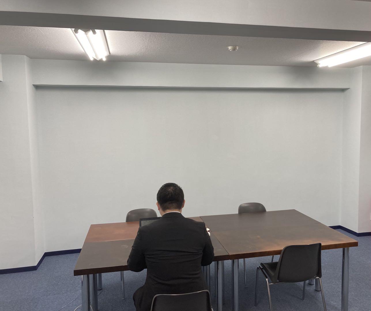 日中総合サービス 飲食OKのお手軽会議室の室内の写真