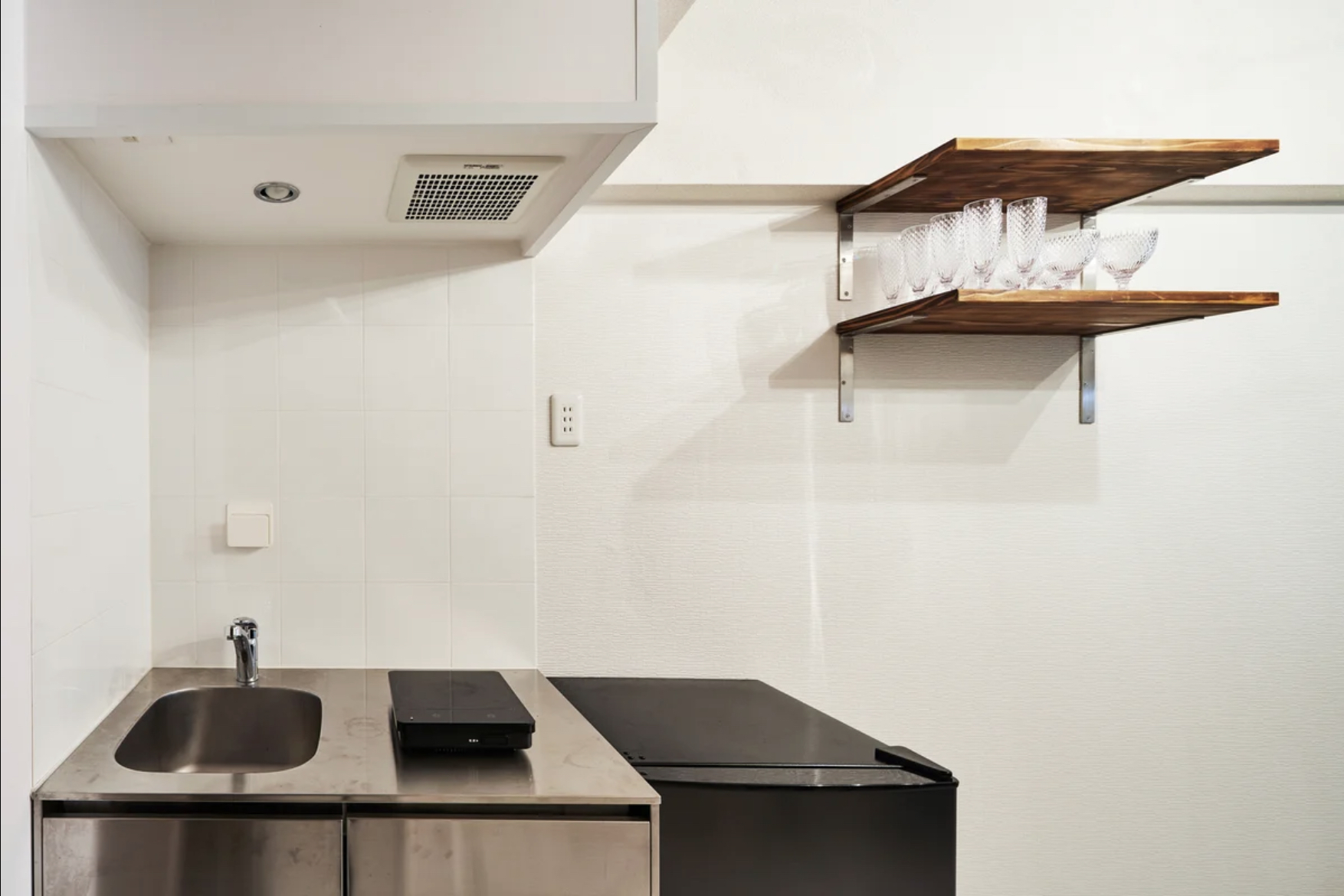 キレイなキッチン - レンタルスペース【ルームルーム】 レンタルスペースルームルームの室内の写真