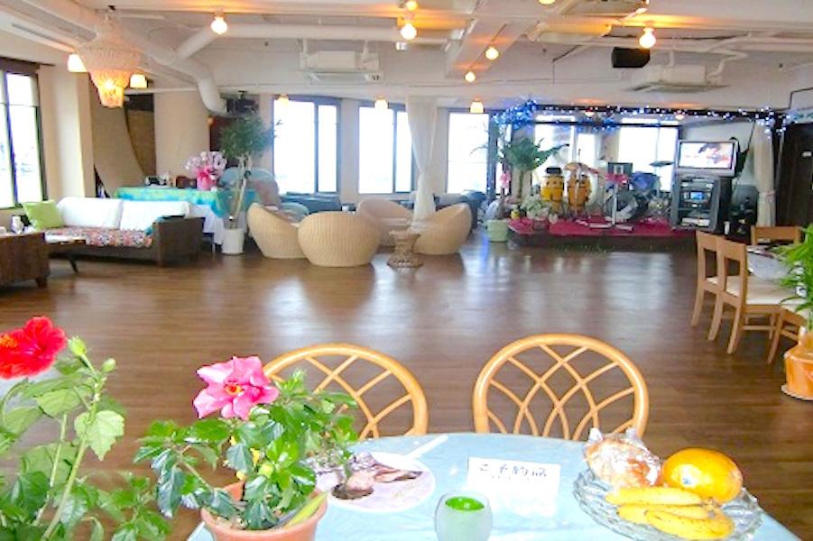 江の島ミントハウス 貸切パーティースペースの室内の写真