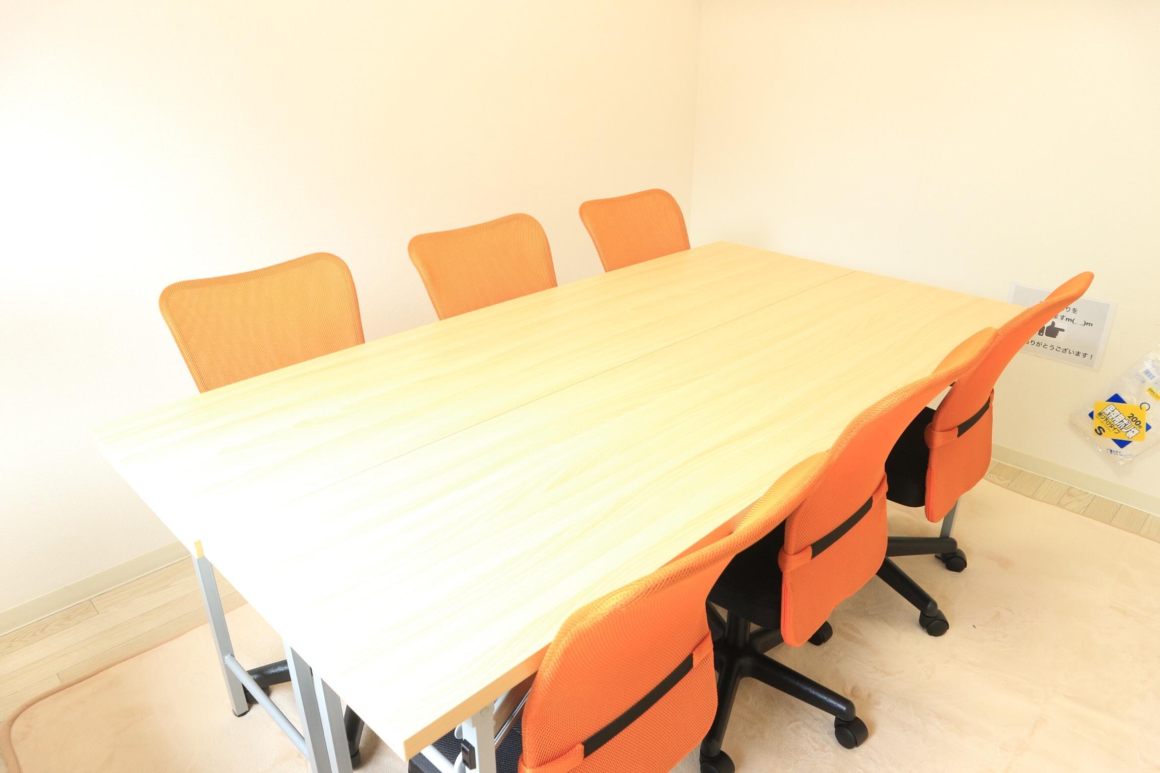 ☆五反田プライベートレッスン向け 五反田 格安スタジオ 個室スペース 個室会議室の室内の写真