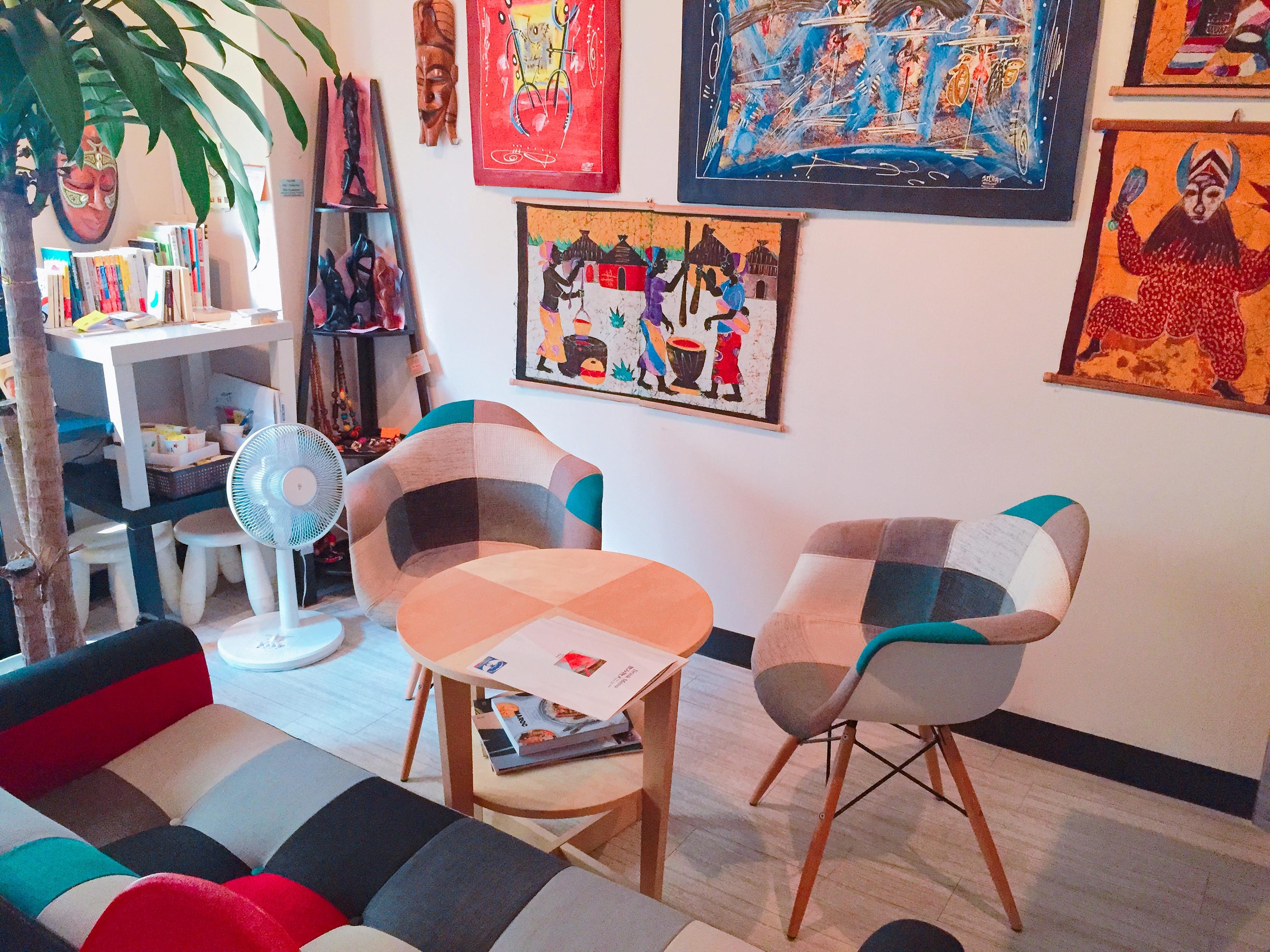 神谷町 東京タワー近く Blue Baobab Africa 【カフェバー】貸切り・飲食物持ち込みプランの室内の写真