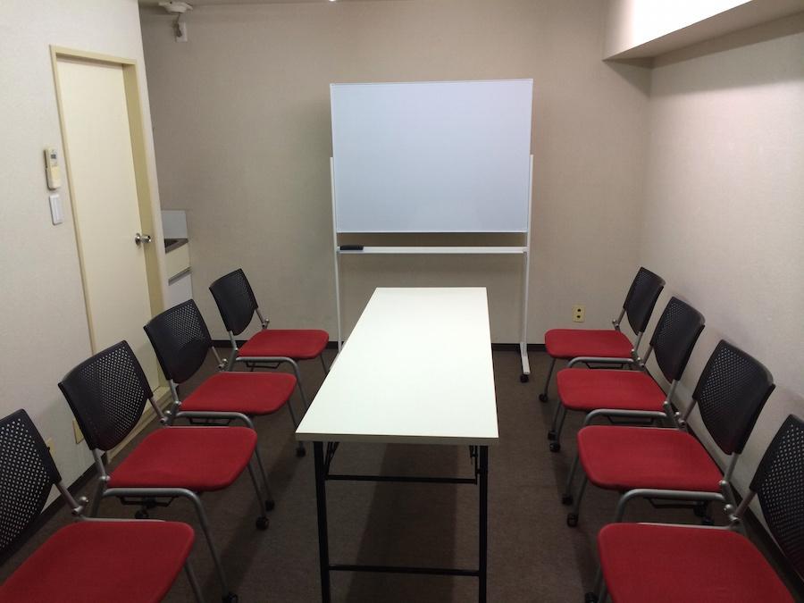 渋谷センター街会議室 個室会議室Cの室内の写真