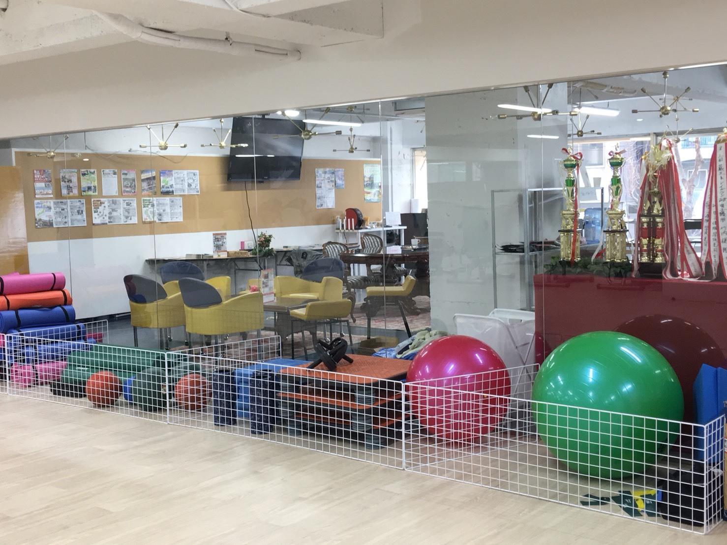 スポーツアスリートサロン フィットネススタジオの設備の写真