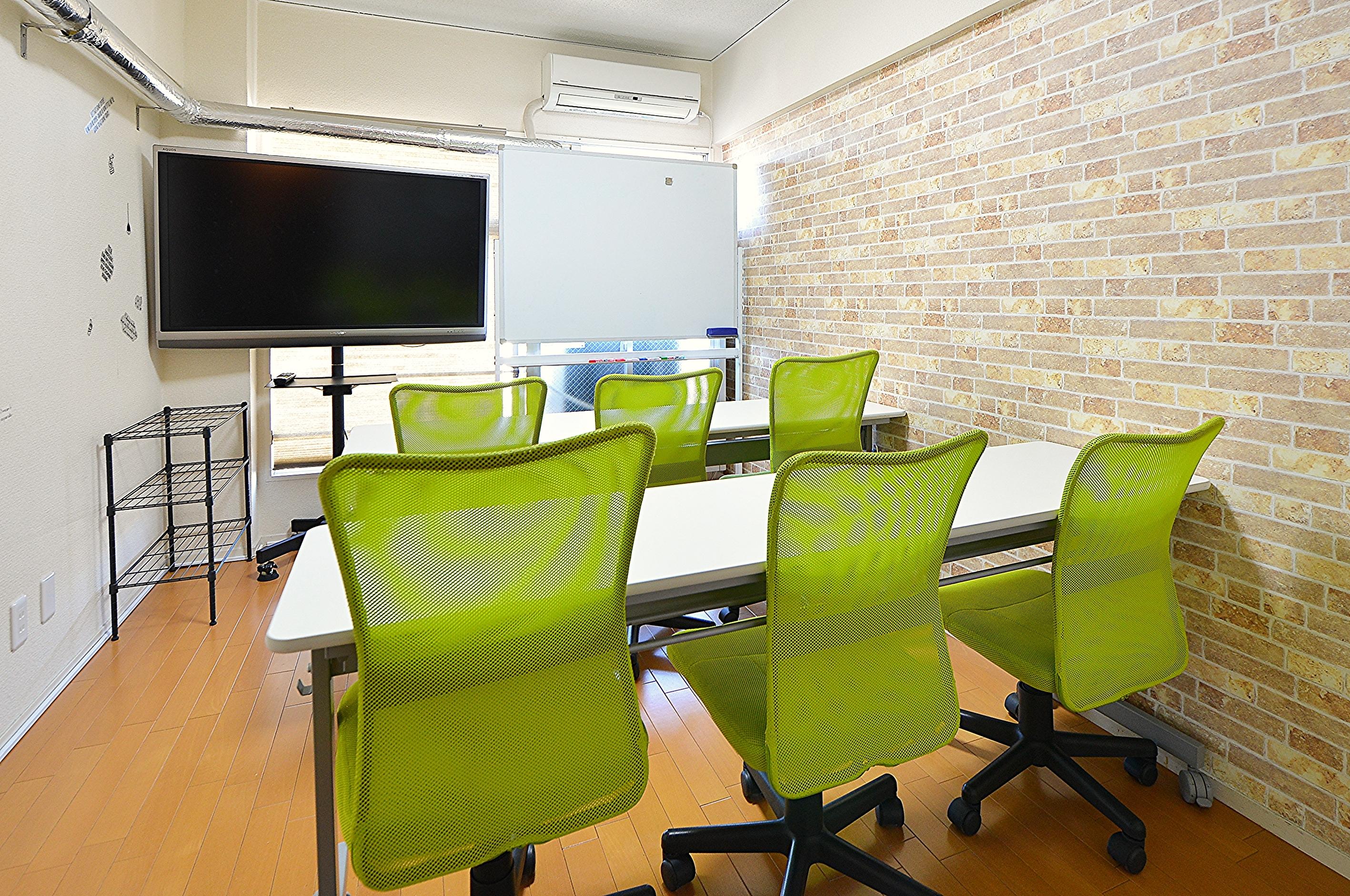 お気軽会議室 チサンM第3名古屋 Share8P『ブリック』の室内の写真