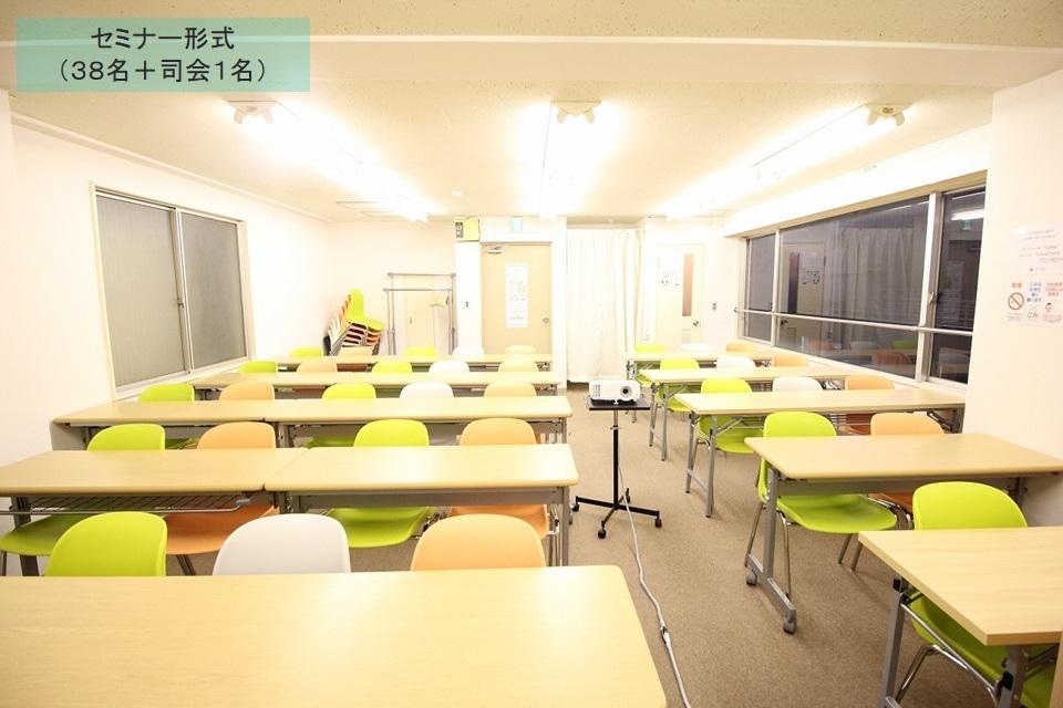 ふれあい貸し会議室 新宿中川 ふれあい貸し会議室 新宿No12の室内の写真