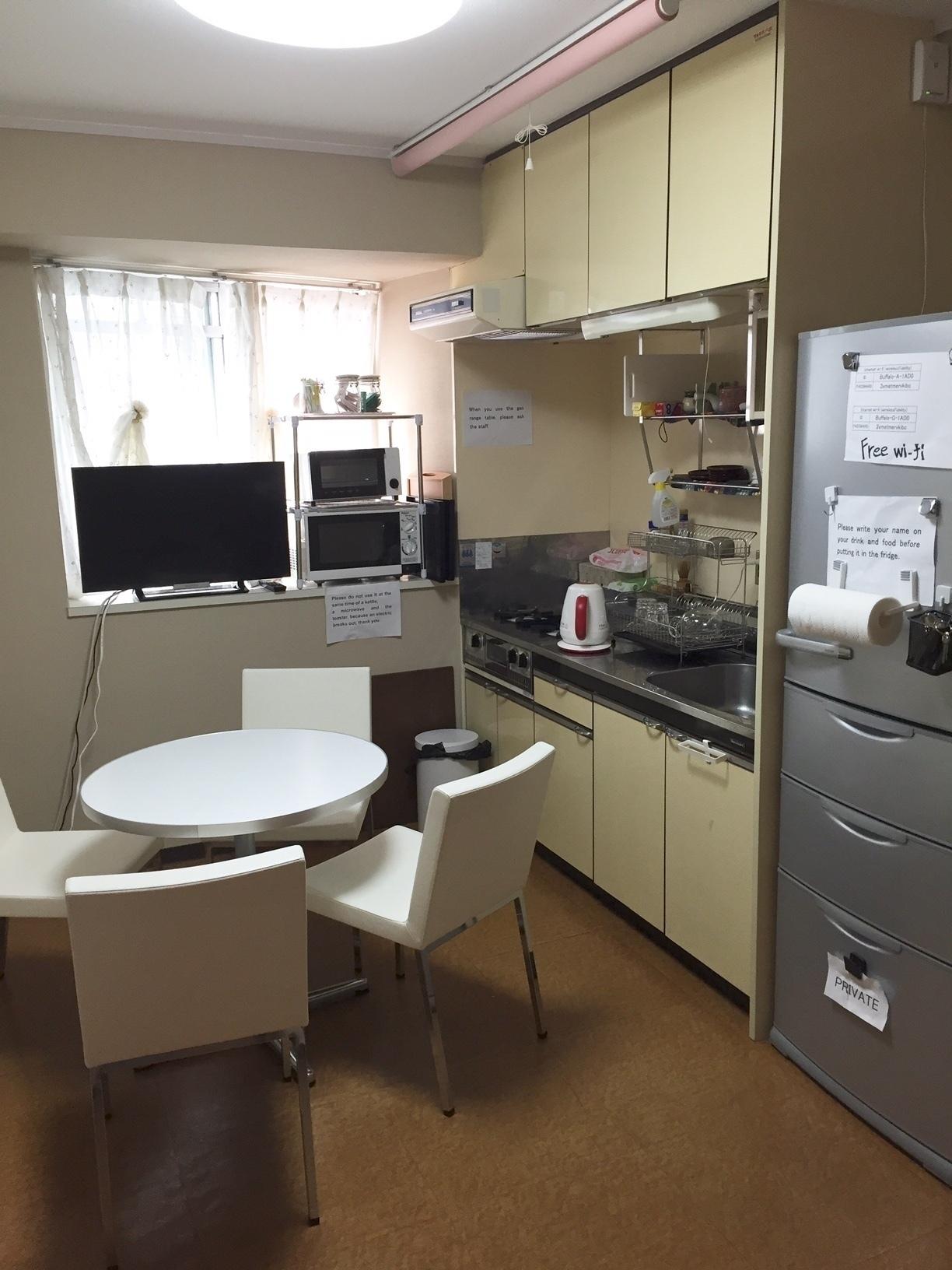 サンハイム南森町 レンタルキッチン ゲストハウス大阪 の室内の写真