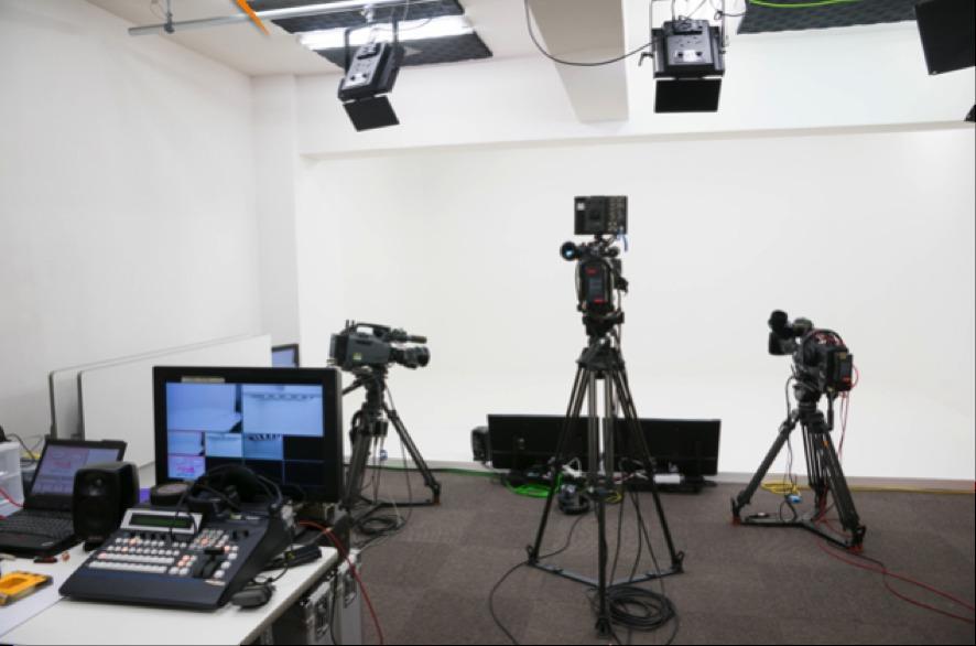 スタジオ撮影風景 - トライアンフ四谷スタジオ レンタルスタジオの室内の写真