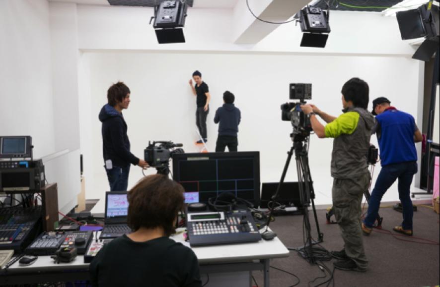 スタジオ撮影風景2 - トライアンフ四谷スタジオ レンタルスタジオの室内の写真