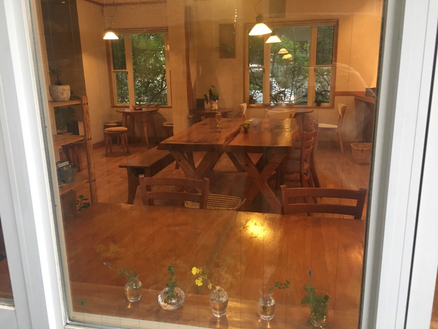 coffee&ギャラリー杏樹 ギャラリースペースの室内の写真