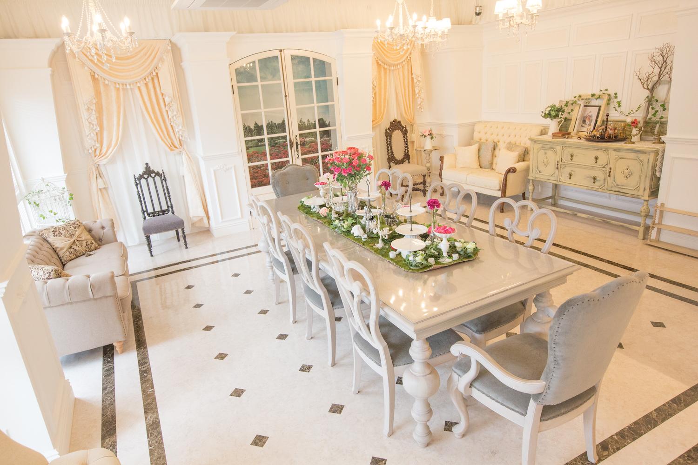 Studio Rosarium 3F「ヴァイスヴァルトの花嫁」の室内の写真